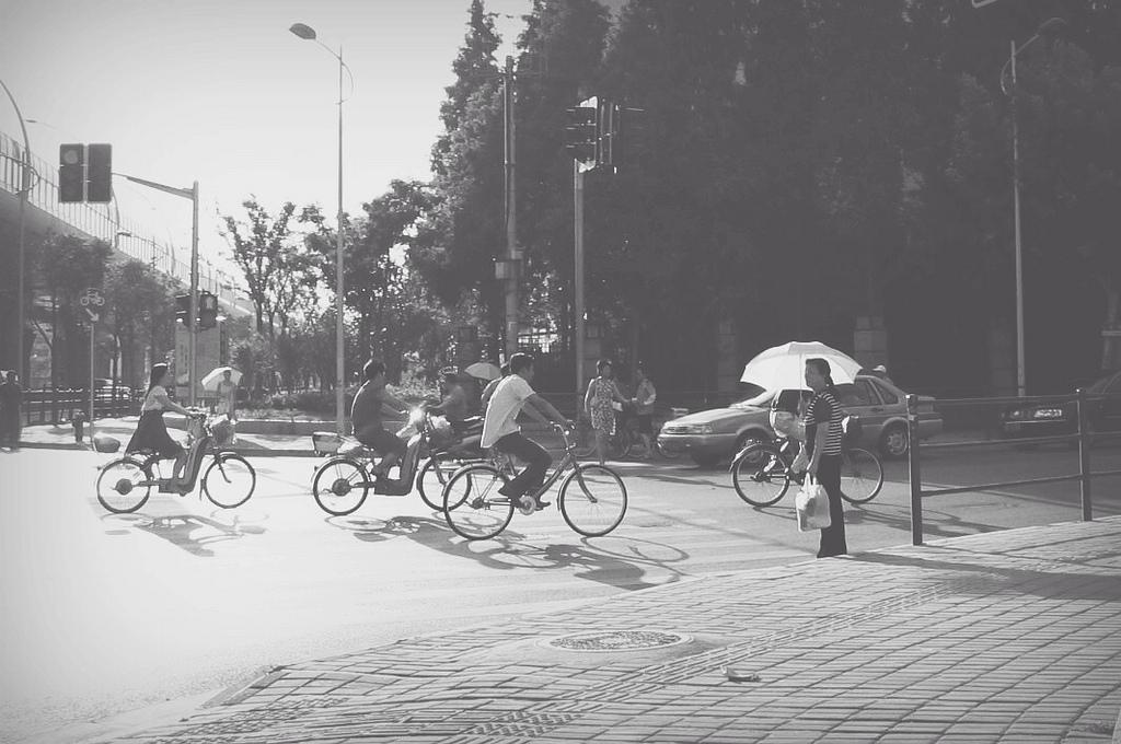 Bike Riding in Shanghai