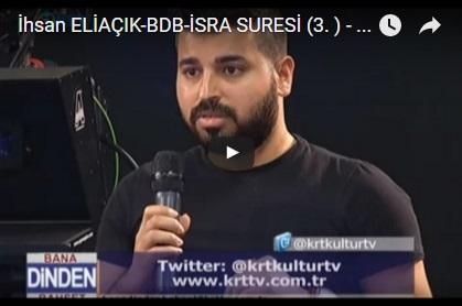 Kültür TV/ BDB/ İSRA (3)